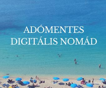 Adomentes Digitalis Nomadok