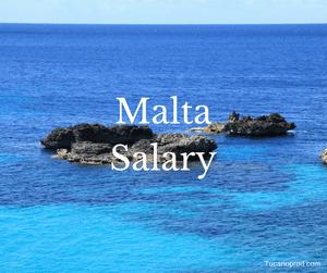 Malta salary by jobs