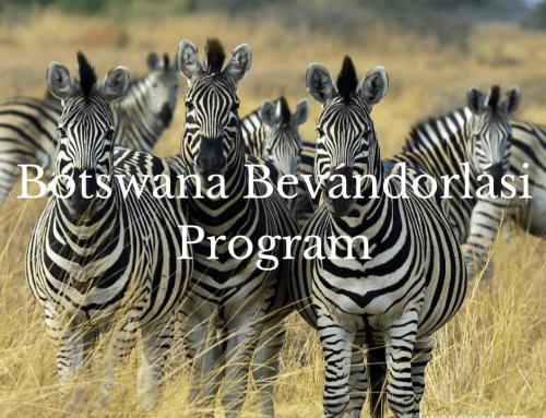 Botswana bevándorlás, állampolgárság és munkavállalási engedély