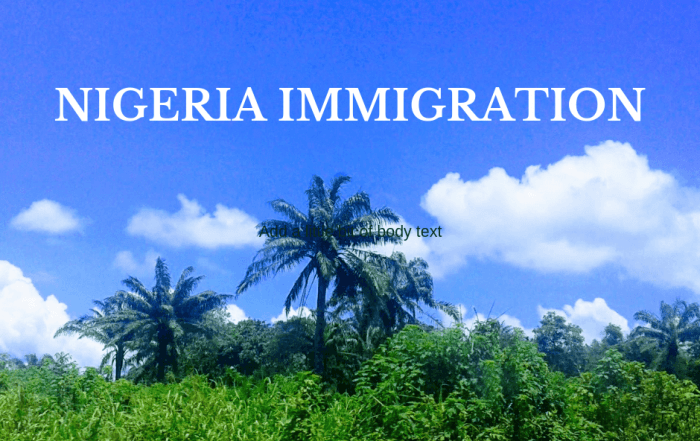 Nigeria immigration