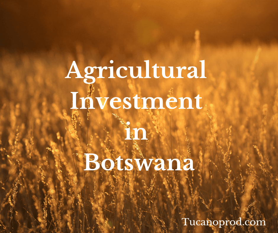 Agricultural investment in Botswana
