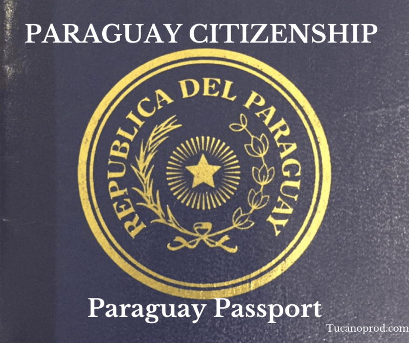 Paraguay citizenship passport permanent residency