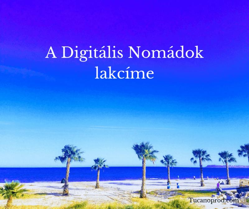Digitális Nomád lakcíme