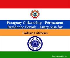 Paraguay citizenship for Indians