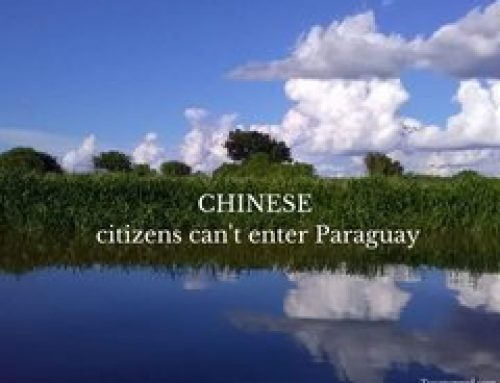 Paraguay suspends visas indefinitely for citizens of the People's Republic of China
