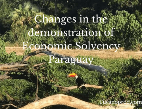Changes in the demonstration of economic solvency during the work-related residency processes in Paraguay!