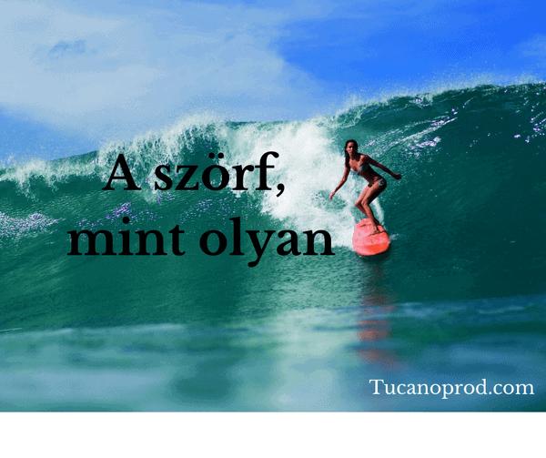 A szörf