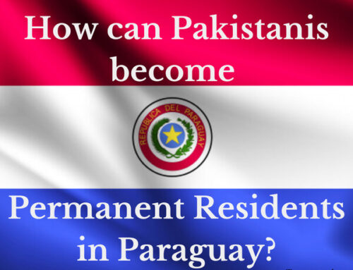 How can Pakistanis become permanent residents of Paraguay?