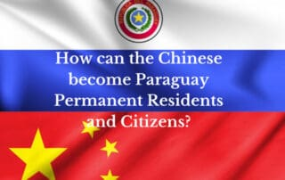 How can Chinese citizens become Paraguay permanent residents