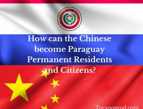 How can Chinese citizens become permanent residents and citizens in Paraguay?